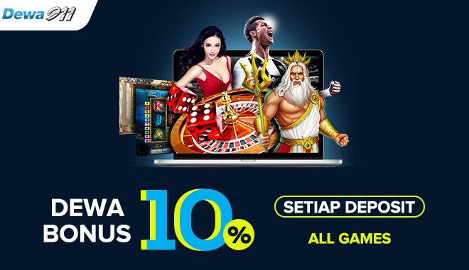 Game Slot Online Terpercaya Special Bonus 150% Di Dewa911